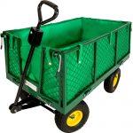test brouette chariot jardin tectake